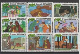 Disney Grenada Grenadines 1981 Série 406-14 9 Val ** MNH - Disney
