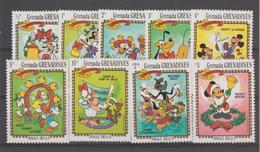 Disney Grenada Grenadines 1983 Série 498-506 9 Val ** MNH - Disney