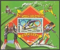 Dschibuti 1987 - Mi-Nr. Block 140 A ** - MNH - Olympia Calgary - Dschibuti (1977-...)