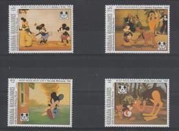 Disney Grenada Grenadines 1993 Série 1522-25 4 Val ** MNH - Disney