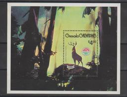 Disney Grenada Grenadines 1980 BF 51 ** MNH - Disney