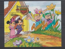 Disney Grenada Grenadines 1985 BF 102 ** MNH - Disney