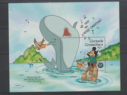 Disney Grenada Grenadines 1986 BF 117 ** MNH - Disney