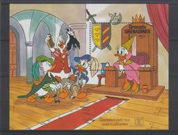 Disney Grenada Grenadines 1987 BF 139 ** MNH - Disney