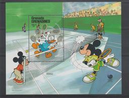 Disney Grenada Grenadines 1988 BF 145 ** MNH - Disney