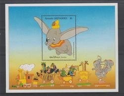 Disney Grenada Grenadines 1988 BF 151 ** MNH - Disney