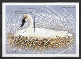 DOMINICA 1995 Swan - Swans