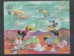 Disney Grenada Grenadines 1988 BF 153 ** MNH - Disney