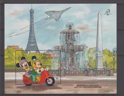Disney Grenada Grenadines 1989 BF 170 ** MNH - Disney