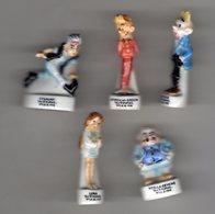 Série 5/9 Fèves Brillantes SPIROU 2 1996 Arguydal - Inscription Obligatoire Sur 3 Lignes Et La Date 1996 - Strips