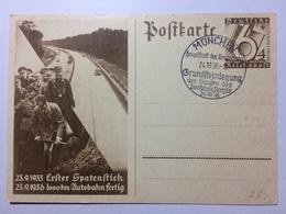 GERMANY -  Postcard Mi P263 - 1000 KM Autobahn Fertig - Sonderstempel - Munchen - Lettres & Documents