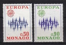 Europa CEPT - Monaco - MNH - M 1038-1039 - 1972