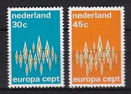 Europa CEPT - Nederland - MNH - M 987-988 - 1972