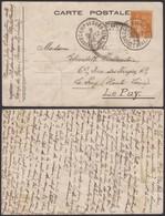 """France 1940 - CP En Franchise """" CAMP DE GURS """" Expéditeur """" Hôpital Central Des Contagions """"  (6G21063) DC0775 - Marcophilie (Lettres)"""