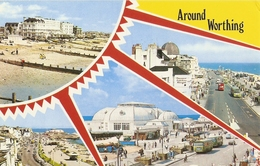 CP Royaume-Uni - Worthing, Multi-vues - Sussex - Worthing