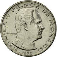 Monnaie, Monaco, Rainier III, 1/2 Franc, 1979, TTB, Nickel, Gadoury:MC 149 - Monaco