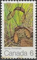 CANADA 1971 The Maple Leaf In Four Seasons - 6c Maple Keys (spring) FU - 1952-.... Regno Di Elizabeth II