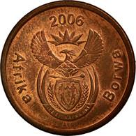 Monnaie, Afrique Du Sud, 5 Cents, 2006, Pretoria, TTB, Copper Plated Steel - Afrique Du Sud