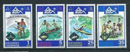 New Hebrides 1975 - YT N° 414-417 Neuf ** - Légende Anglaise