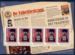 Nederland 2018 50yr Fabeltjeskrant 6   Momfort De Mol  The Mole   Sheetlet    Postfris/mnh/sans Charniere - Period 1980-... (Beatrix)