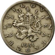 Monnaie, Tchécoslovaquie, 50 Haleru, 1931, TB+, Copper-nickel, KM:2 - Tchécoslovaquie