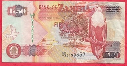 Zambie 50 Kwacha 2010 (sign 12) Dans L 'état - Zambie