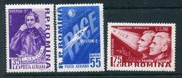 "Y85 ROMANIA 1961 1994-1996 German Titov. Flight Of The Spacecraft ""VOSTOK-2"". Space - Space"