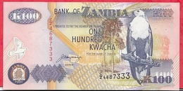 Zambie 100 Kwacha 1992/2001 (sign 11)  Bon état - Zambie