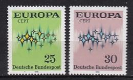 Europa CEPT - Duitsland - MNH - M 716-717 - 1972