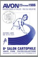 CPM 77 - Avon - 8ème Salon Cartophile - 1986 - Avon