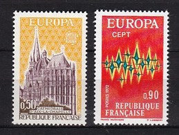 Europa CEPT - Frankrijk - MNH - M 1788-1789 - 1972