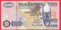 Zambie 100 Kwacha 2003 (sign 12)  UNC - Zambie