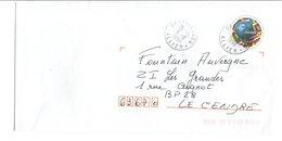 OBLITERATION DE TREZELLES ALLIER - Marcophilie (Lettres)