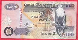 Zambie 100 Kwacha 2011 (sign 12) Dans L '  état - Zambie