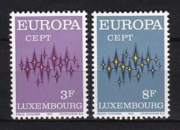 Europa CEPT - Luxemburg - MNH - M 846-847 - 1972