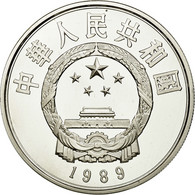 Monnaie, CHINA, PEOPLE'S REPUBLIC, 5 Yüan, 1989, FDC, Argent, KM:249 - Cina