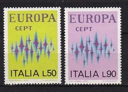 Europa CEPT - Italië - MNH - M 1364-1365 - 1972