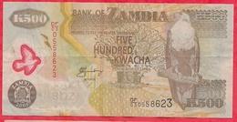 Zambie 500 Kwacha 2005  Dans L '  état - Zambie