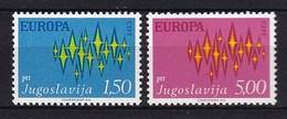 Europa CEPT - Jugoslavië - MNH - M 1457-1458 - 1972