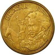 Monnaie, Brésil, 10 Centavos, 2003, TB+, Bronze Plated Steel, KM:649.2 - Brésil