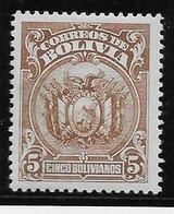 Bolivie N°157 - Neuf * Avec Charnière  - TB - Bolivie