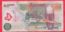 Zambie 1000 Kwacha 2004  UNC - Zambie