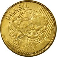 Monnaie, Brésil, 25 Centavos, 2006, TB+, Bronze Plated Steel, KM:650 - Brésil