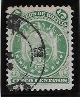 Bolivie N°9 - Oblitéré - TB - Bolivie