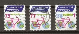 Pays-bas 2008/10 - Protection De L' Environnement - Petit Lot De 3° - Bicyclette Stylisée - Vélo - Cyclisme - Timbres