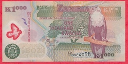 Zambie 1000 Kwacha 2005 Dans L 'état - Zambie