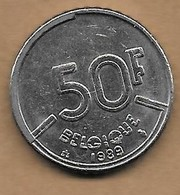 50 Francs Baudouin I 1989 FR - 1951-1993: Baudouin I