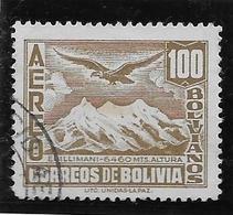 Bolivie Poste Aérienne N°62 - Oblitéré - TB - Bolivie