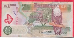 Zambie 1000 Kwacha 2008 Bon état - Zambie