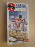 Maquette Plastique AIRFIX 54 MM : FIGURINE NAPOLEONIENNE 1815 2nd DRAGOON WATERLOO SCOTS GREYS - Figurines
